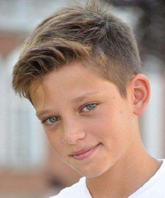 Элегантная стрижка мальчику 10 лет 2020