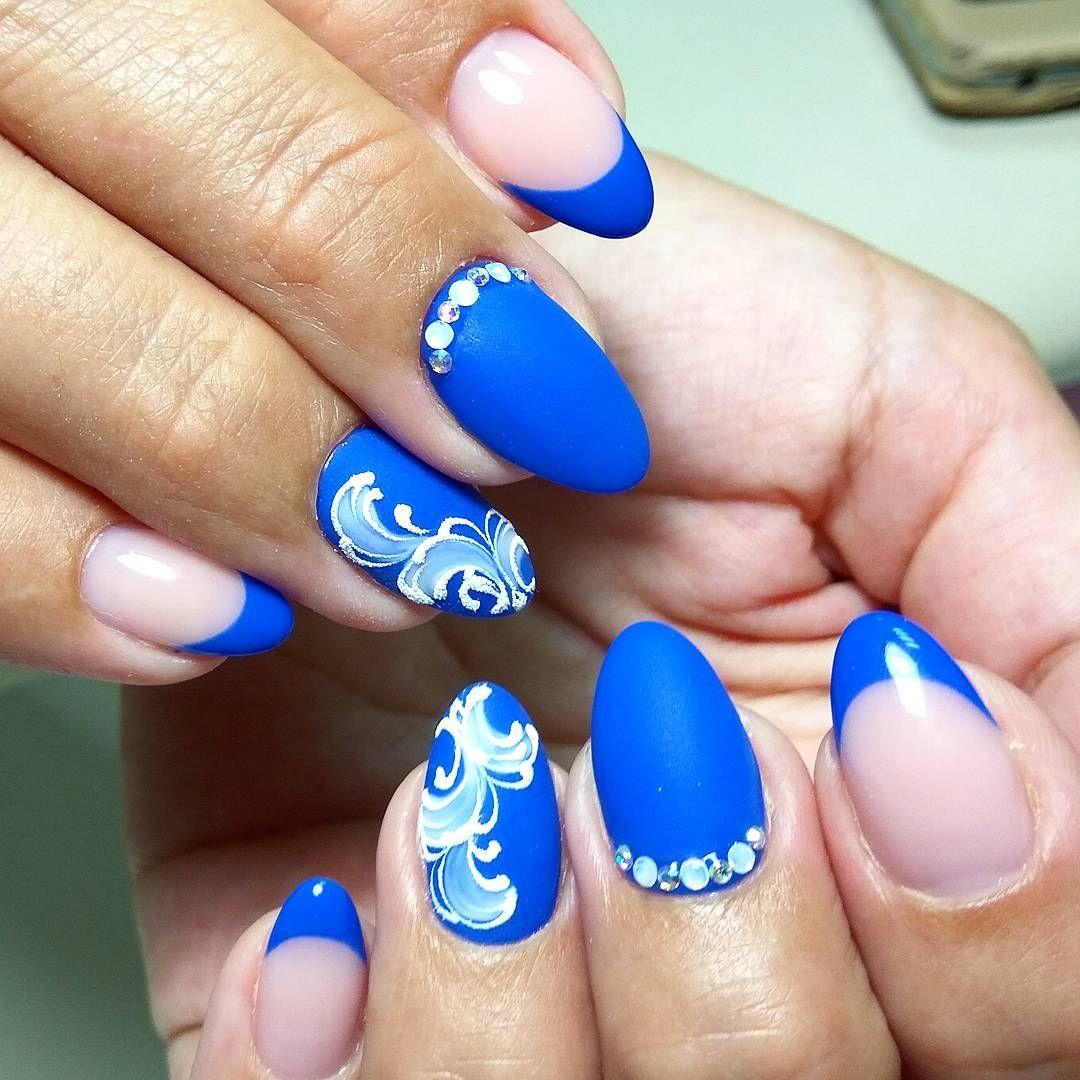 полученные знания ногти картинка голубые нашем сайте можете