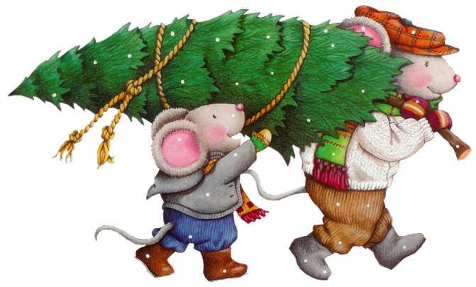 Смешная гифка с новым годом крысы