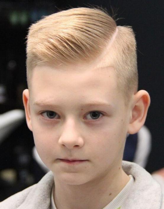 Прическа мальчику на короткие волосы, школьная 2020