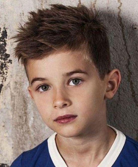 Легкая стрижка на тонкие волосы мальчика 10 лет 2020