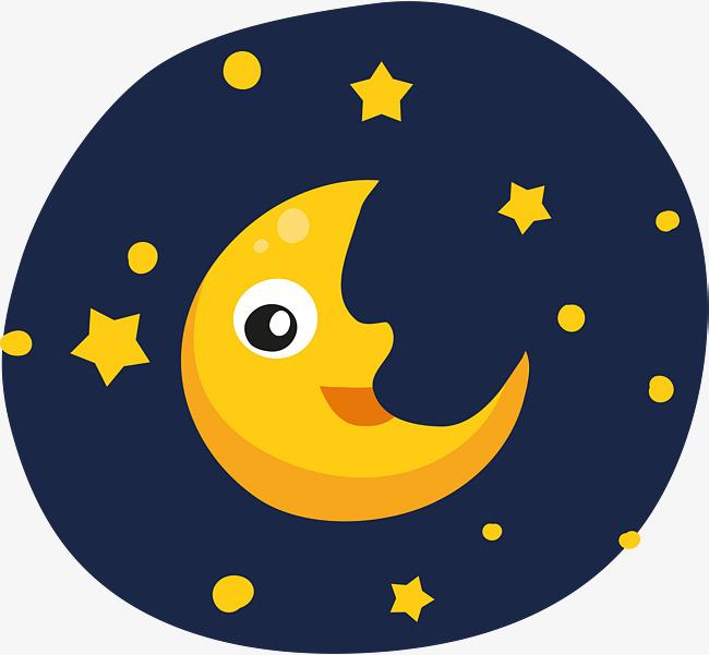 Картинка луна детская