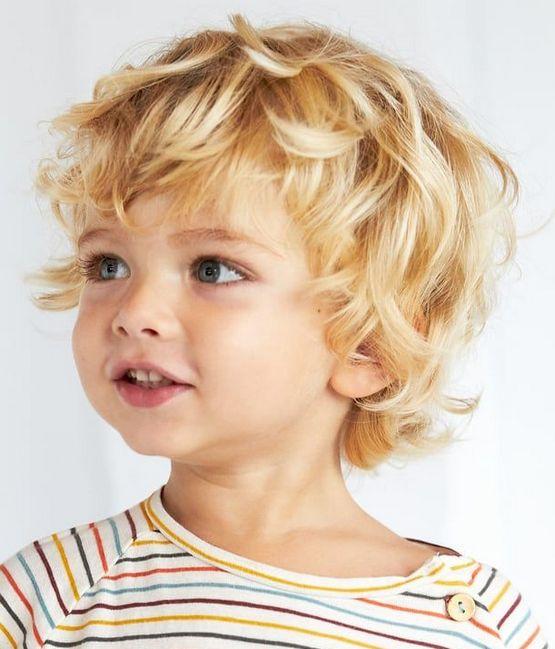 Модели стрижек мальчикам - в детский сад 2020
