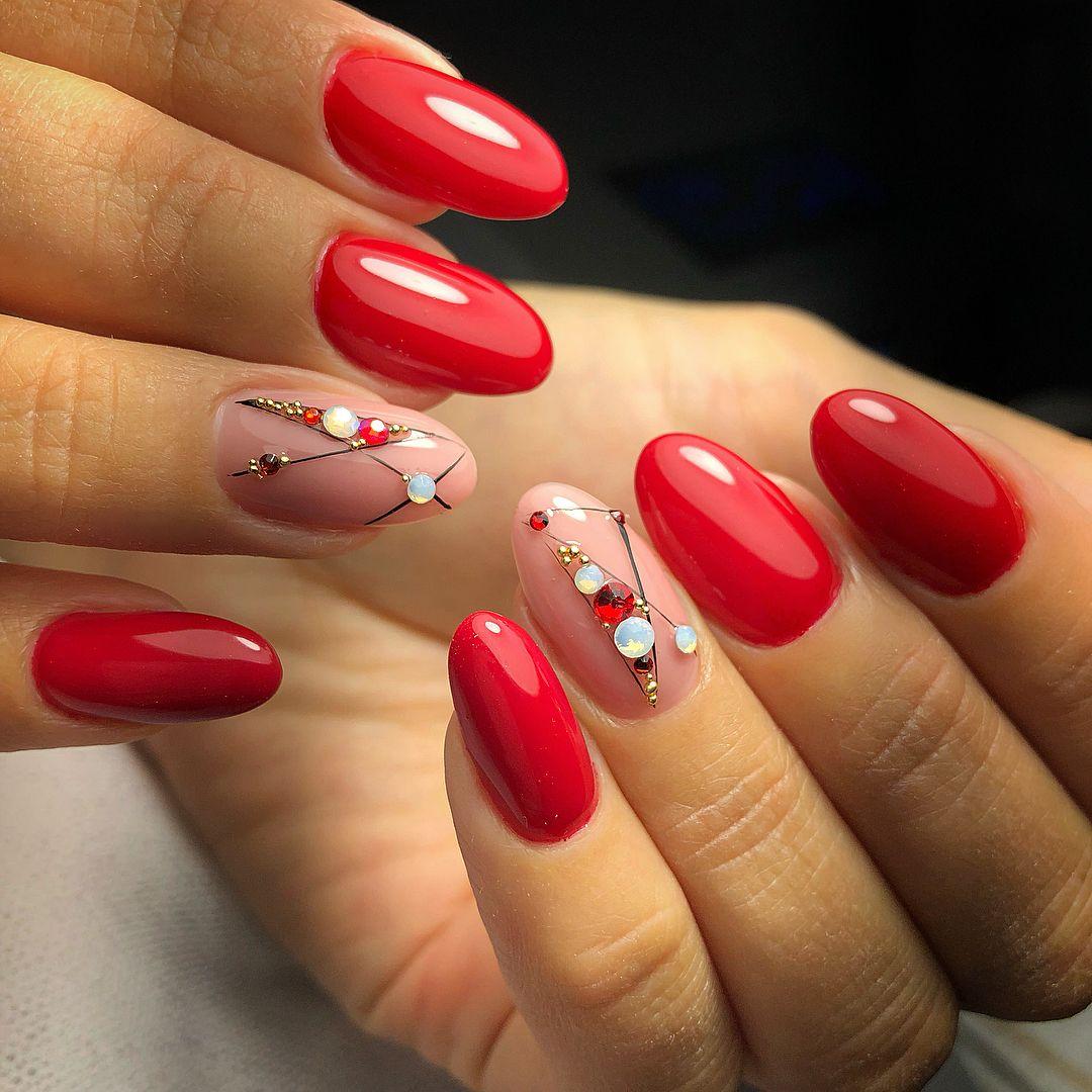 обольщайтесь, дизайн ногтей красного цвета фото новинки теперь, когда здоровье