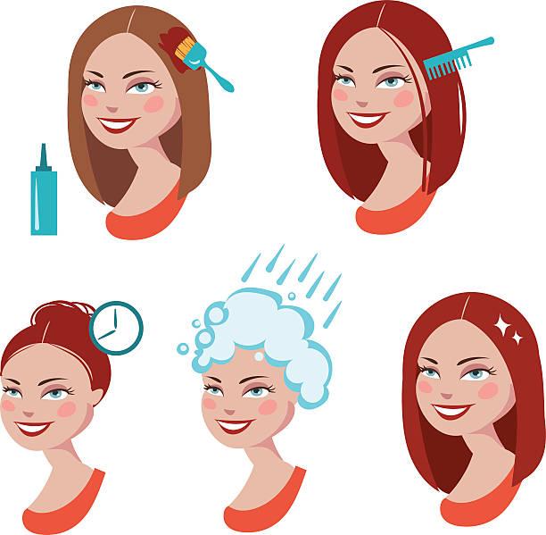 Окрашивание волос по лунному календарю в 2019 году