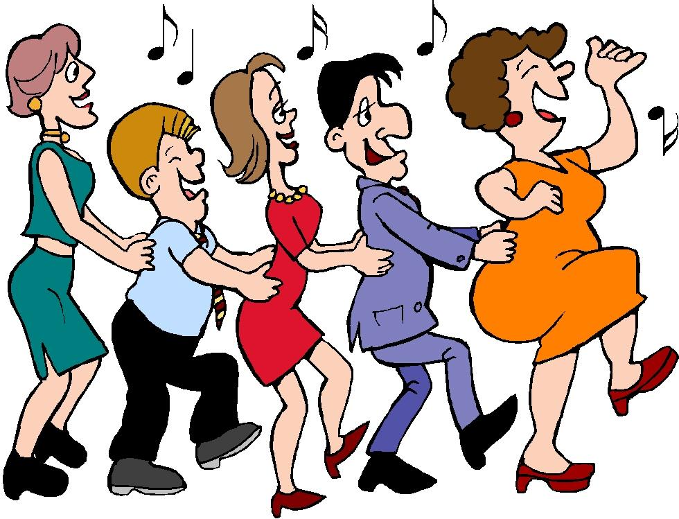 Веселые картинки о танцах