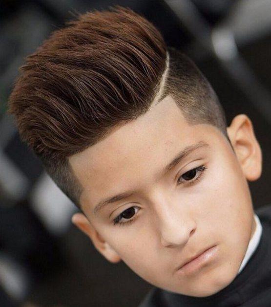 Прическа мальчику на средние волосы, школьная подростку 2020