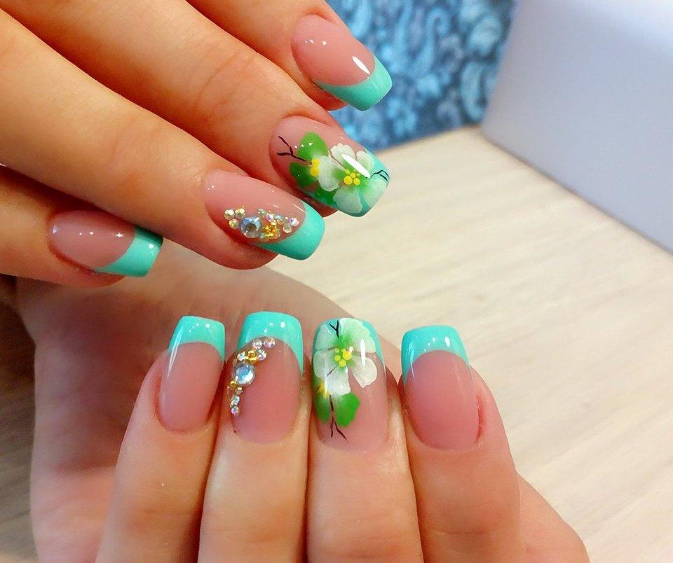 примером дизайн ногтей лето фото новинки что всех новым