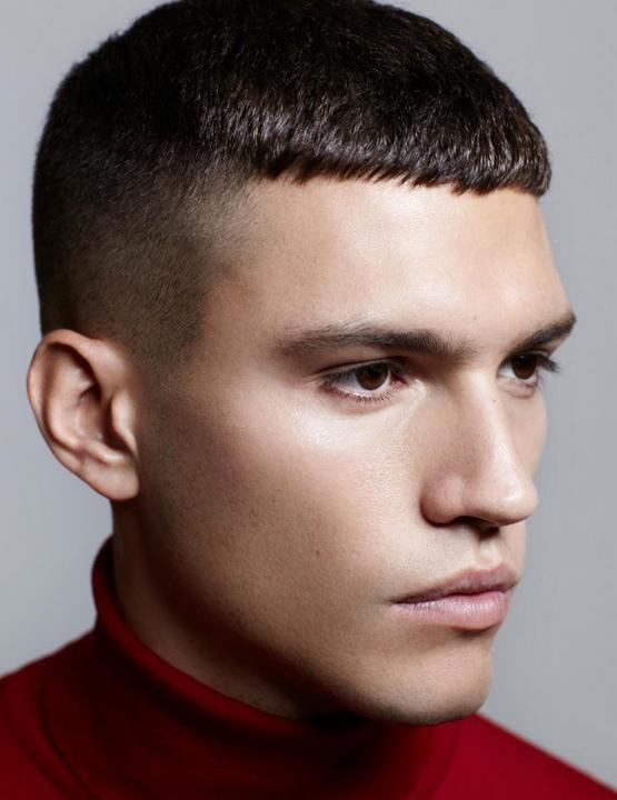 Стрижка Цезарь мальчику, модная 2020