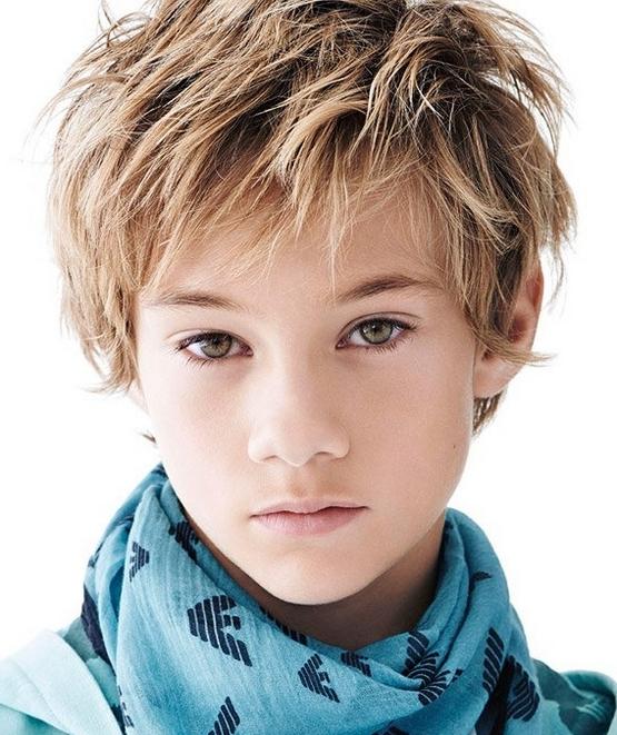 Стрижка Каскад мальчику, короткая Лесенка 2020