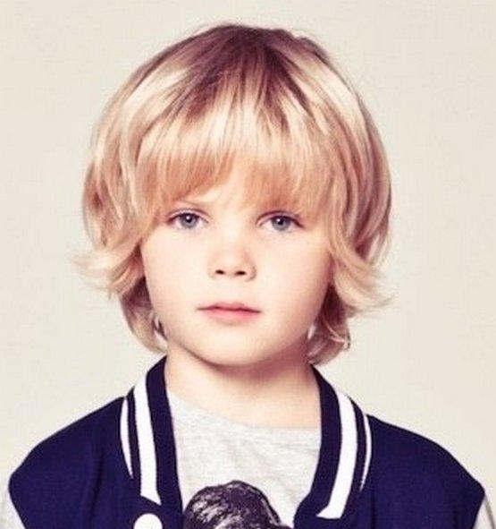 Стрижка Каскад мальчику, стильная Лесенка 2020