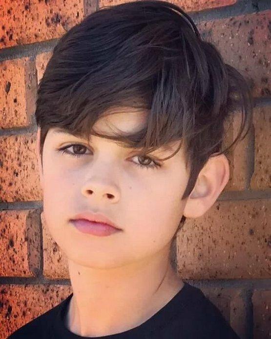 Стрижка мальчику для тонких волос, красивая 2020