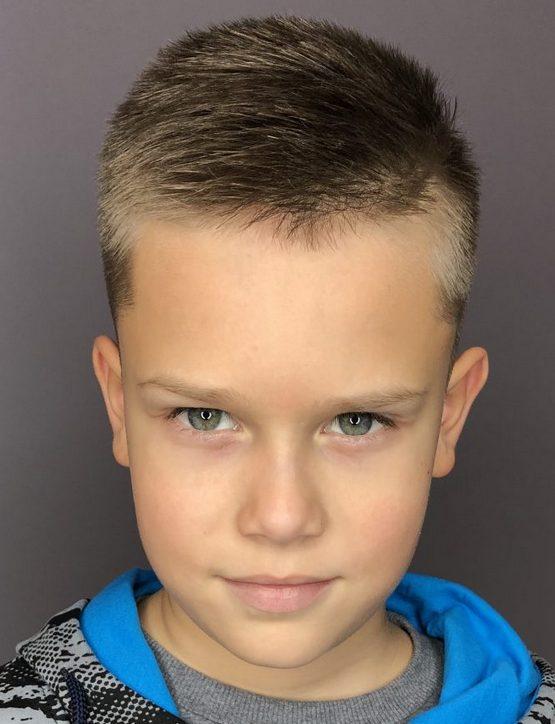 Стрижка мальчику в школу, короткая 2020