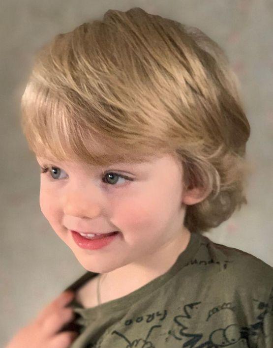 Стрижки для мальчика тонкие волосы 2020
